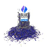 Pure Blue Cornflower Petals - 100% Organic, dried, grown in Germany - Natural Organically Grown Herbal Flowers for For Homemade Lattes, Tea Blends, Bath Salts, Gifts, Crafts. (Centaurea Cianus) (Color: Blue)