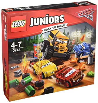 LEGO - 10744 - Juniors - Jeu de Construction - Le Super 8 de Thunder Hollow