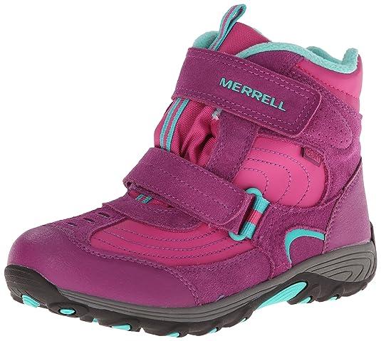 Merrell Moab Polar Mid Strap WTPF Snow Boot (Toddler/Little Kid/Big Kid)