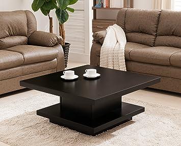 Stuart Square Coffee Table, Black