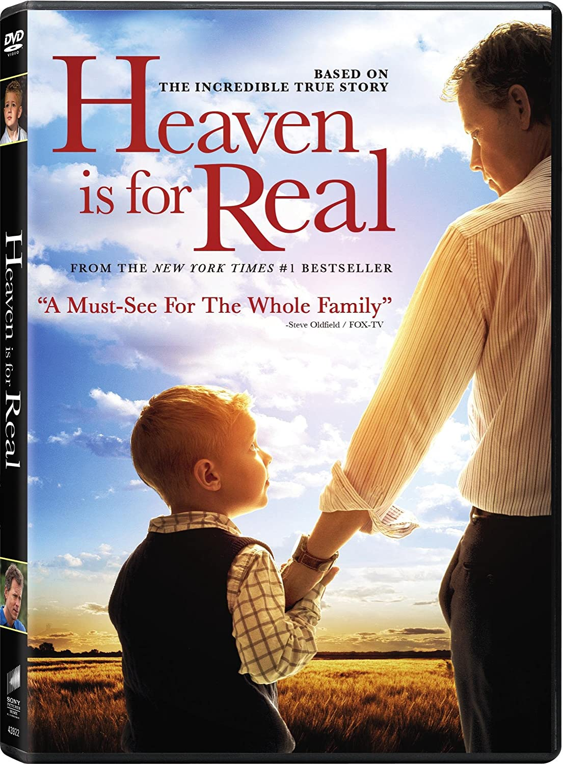 Heaven is For Real DVD UltraViolet