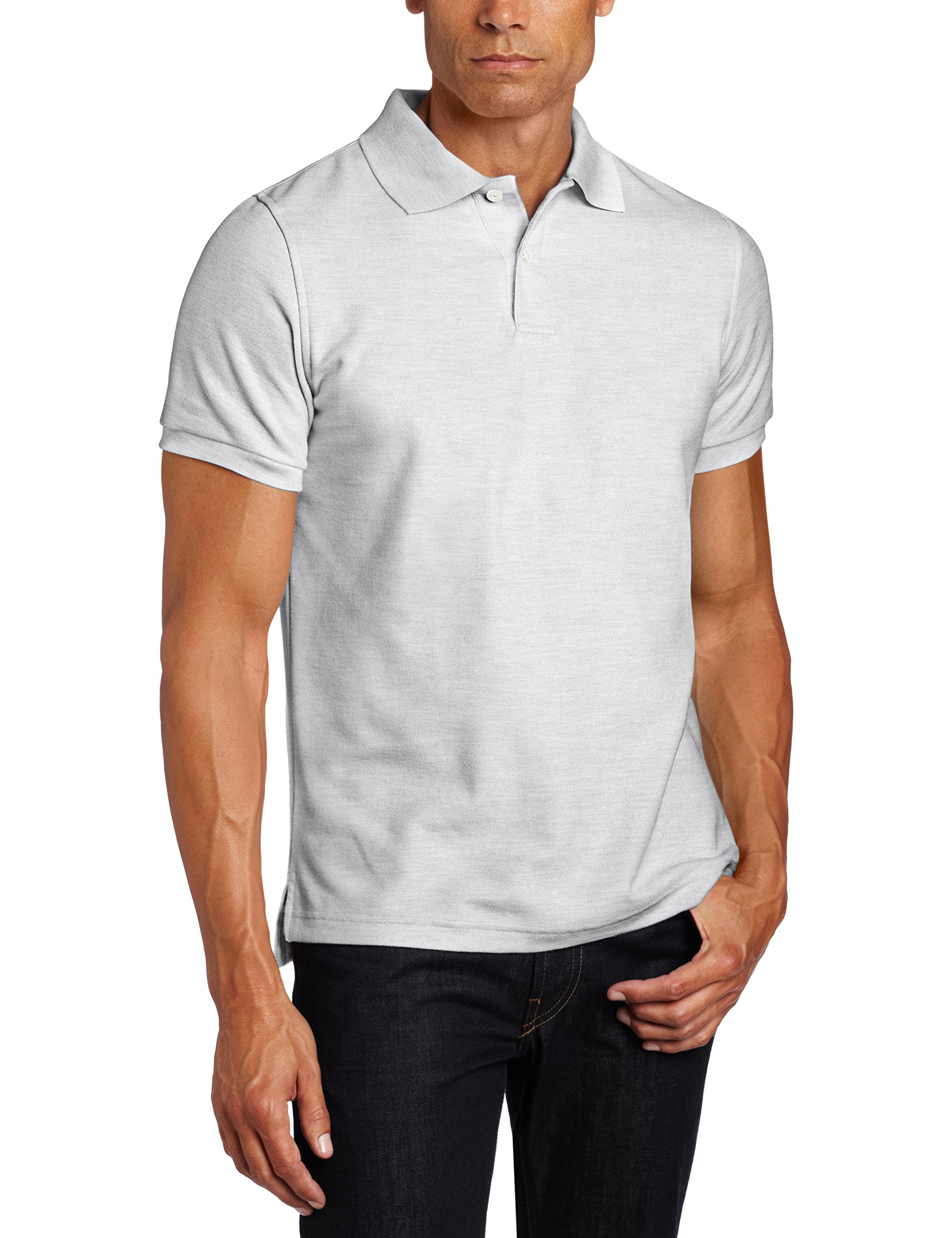 Short Sleeve Modern Fit Mens Polo Shirt