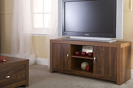 Mueble para TV en acabado accacia