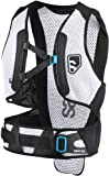Salomon Skiing Body Protection Men's Flexcell Back Protector (Black/White, Medium)