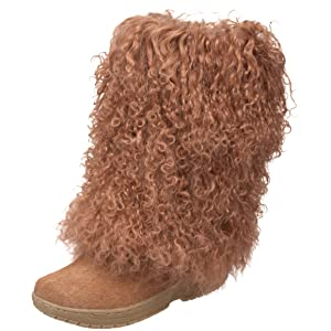 Image BEARPAW Women's Boetis Boot,Chestnut,5 M US