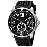 Cartier Men's W7100056 Analog Display Swiss Automatic Black Watch (Color: Black)