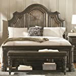 Coaster Carlsbad King Panel Bed in Vintage Espresso