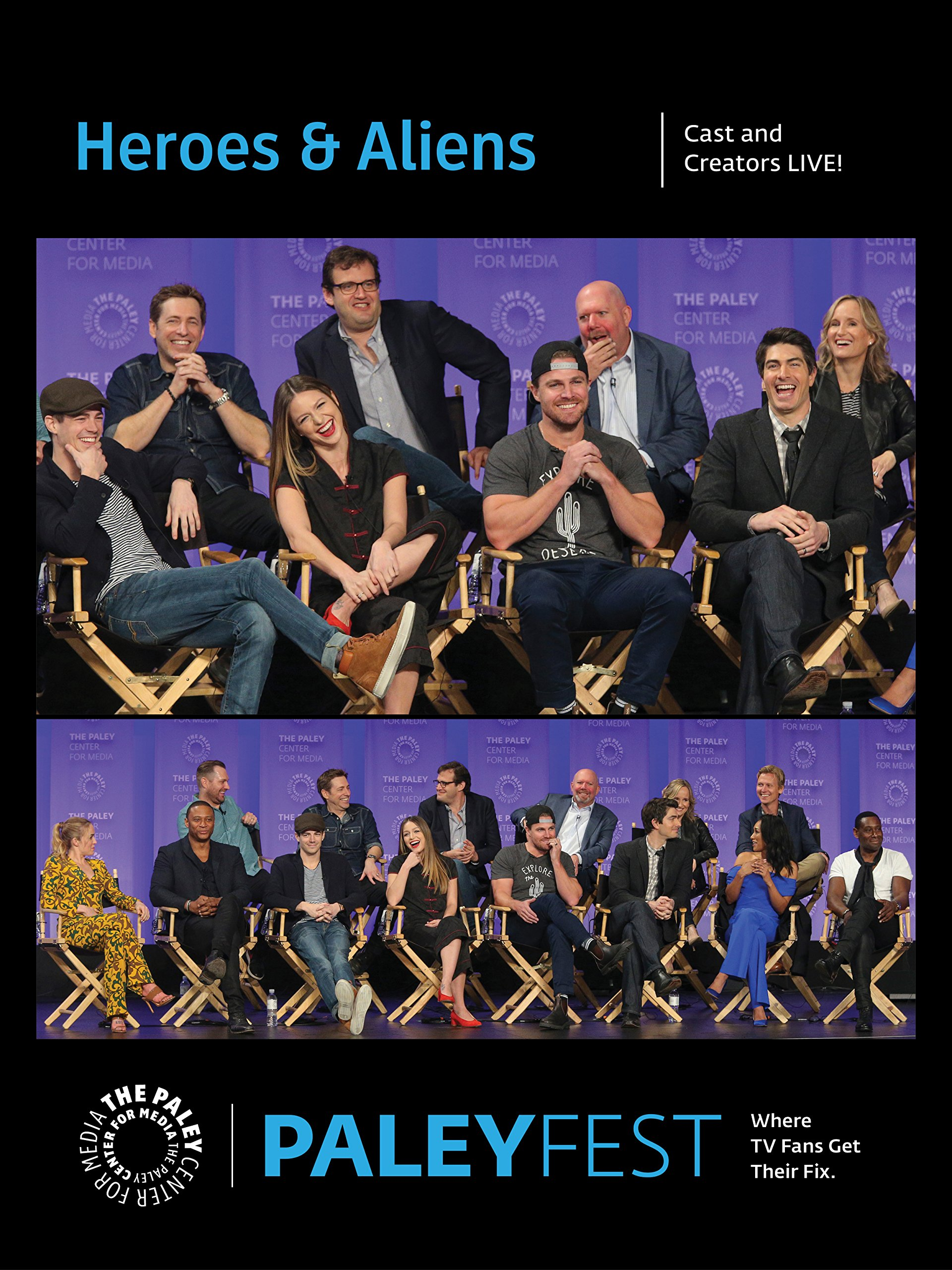 Heroes & Aliens: Cast and Creators PaleyFest