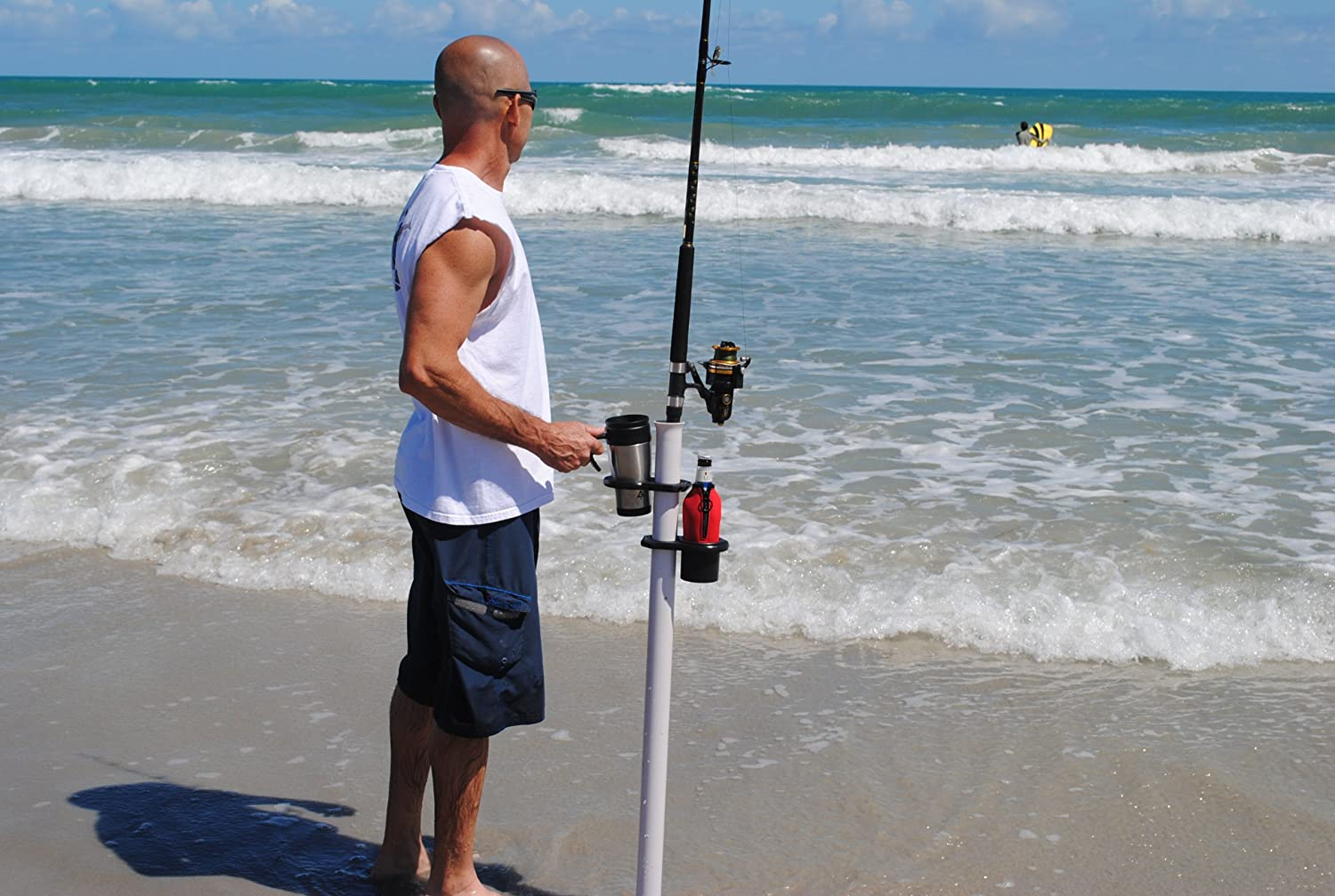 Fishing pole holders for home search results million for Beach fishing rod holder