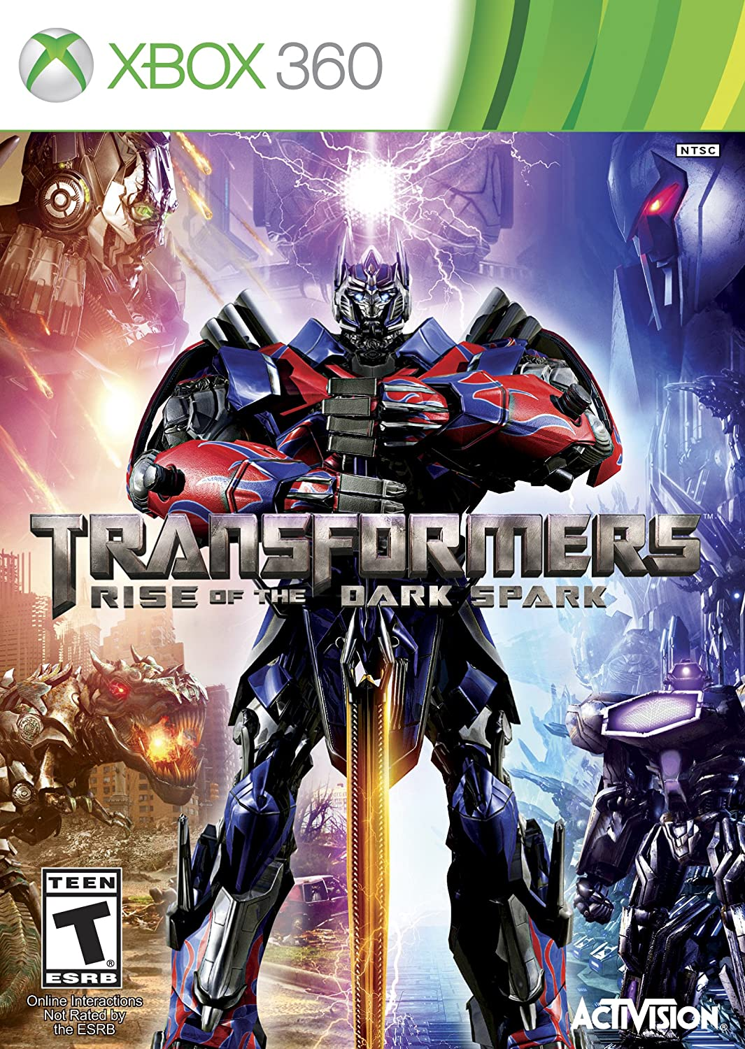 Transformers The Game Xbox 360 Xbox 360 Video Games