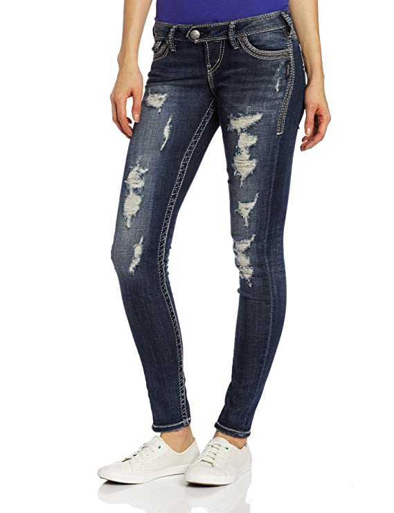 Silver Jeans Juniors Tuesday Skinny Jean Jean