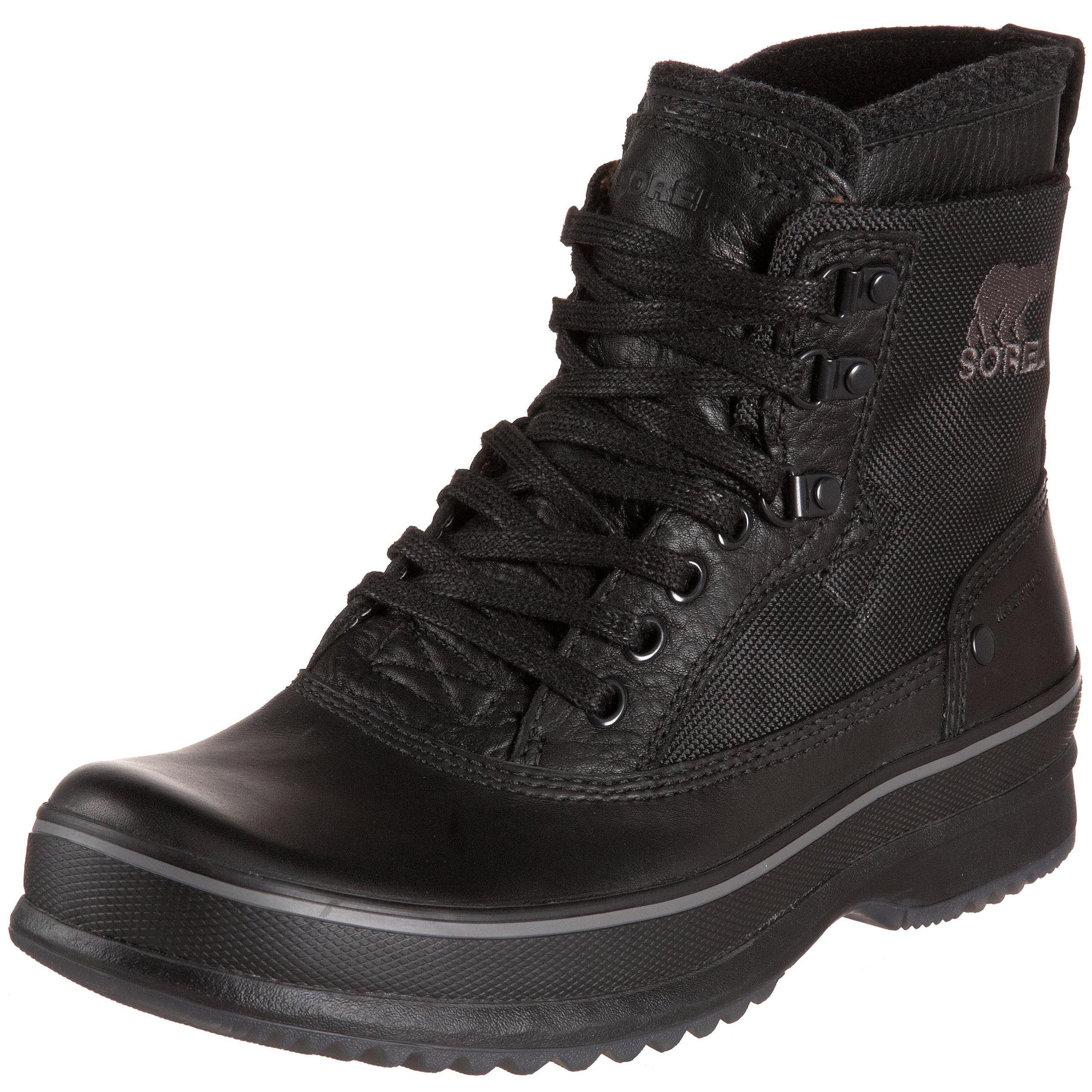 Sorel Men's Brimley NM1565 Boot,Black,11.5 M US