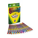 Crayola Twistables Colored Pencils, 30 Count, Assorted Colors, Gift (Color: Assorted, Tamaño: 30 Count)