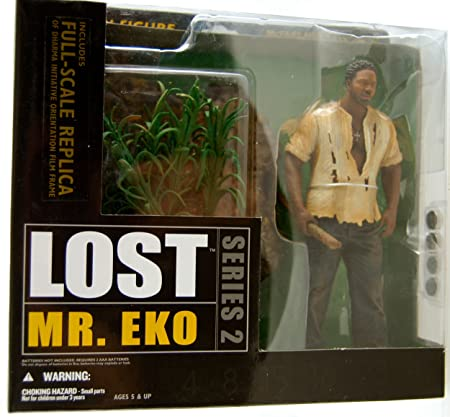 Figurine - Lost - Mr. Eko Serie 2