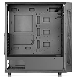 DEEPCOOL MATREXX 55 ADD-RGB 3F Case, E-ATX Supported, Motherboard or Button Control of SYNC of Addressable RGB Devices of Any Brands, 3x120mm ADD-RGB Fans Pre-Installed, 4mm Full Sized Tempered Glass (Color: MATREXX 55 3F (3 ADD-RGB fans at front), Tamaño: MATREXX 55)