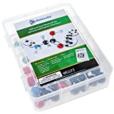 Molecular Model Kit with 59 Atom Chemistry Modeling Set - Classroom, Students, Laboratory, Scientists, & Home - 100% Fun Satisfaction! - MB-001