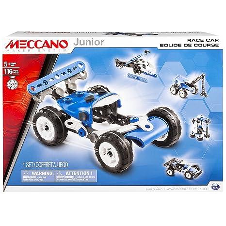 Meccano - 6026702 - Jeu de Construction - Bolide de Course 5 Modèles Meccano Junior