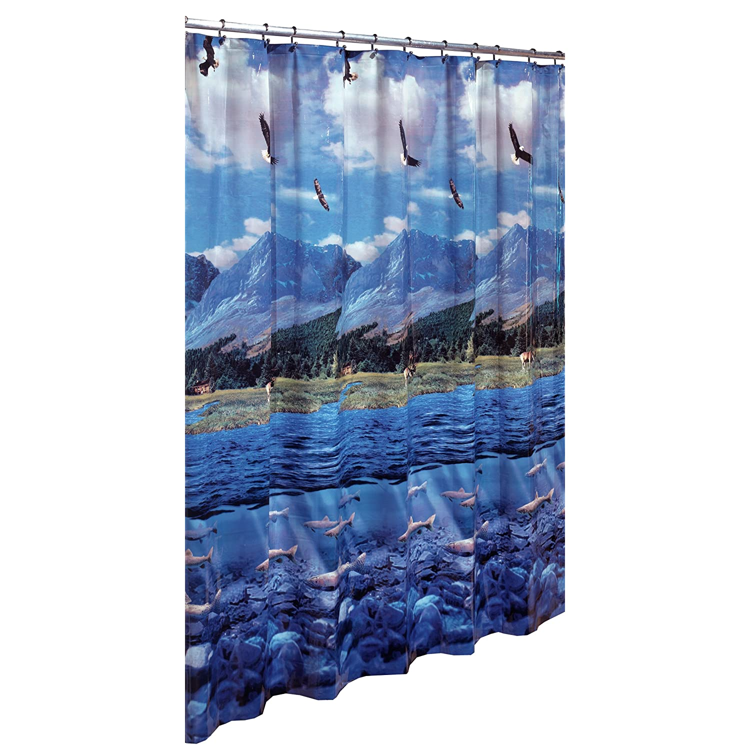 Shower Curtains Lake | House Designs