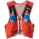 Salomon Unisex S/Lab Sense Ultra 8 Set Hydration Vest, Racing Red, Medium (Color: Racing Red, Tamaño: Medium)