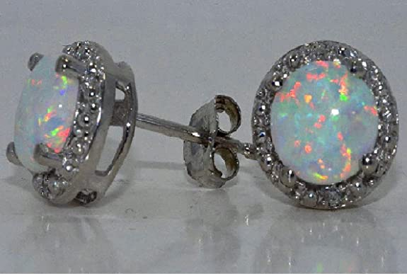 2-Carat-Opal-Diamond-Stud-Earrings-925-Sterling-Silver-Rhodium-Finish-White-Gold-Quality