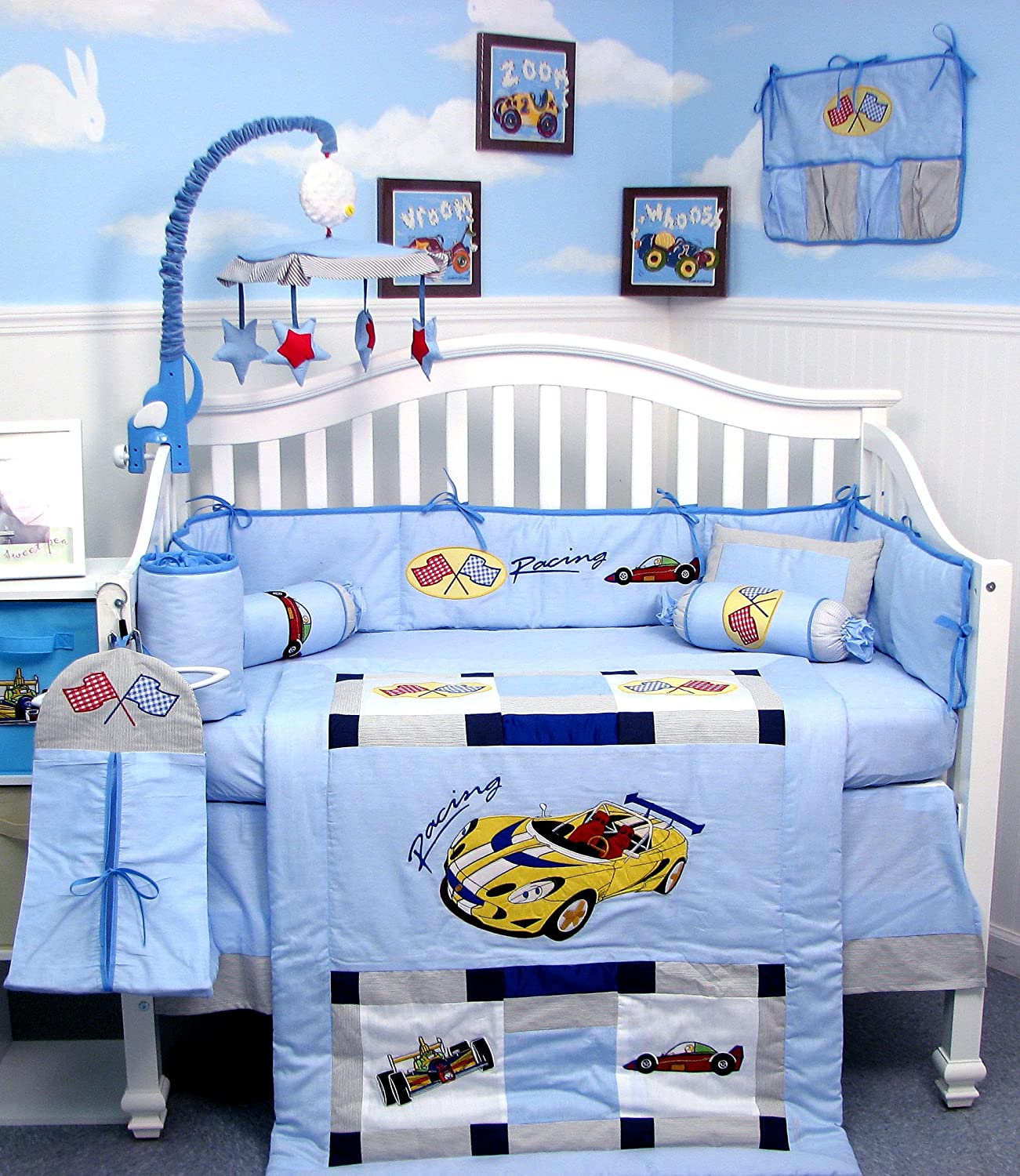 Car Crib Bedding Totally Kids Totally Bedrooms Kids