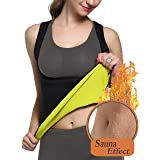 Glamours Womens Body Shaper Vest For Weight Loss Slimming Sweat Fat Burner Tank Top S by