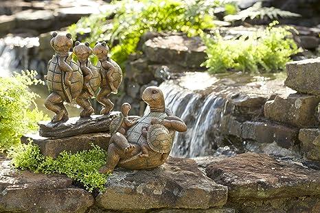 Family Garden Sculpture Turtle Family Garden Sculpture