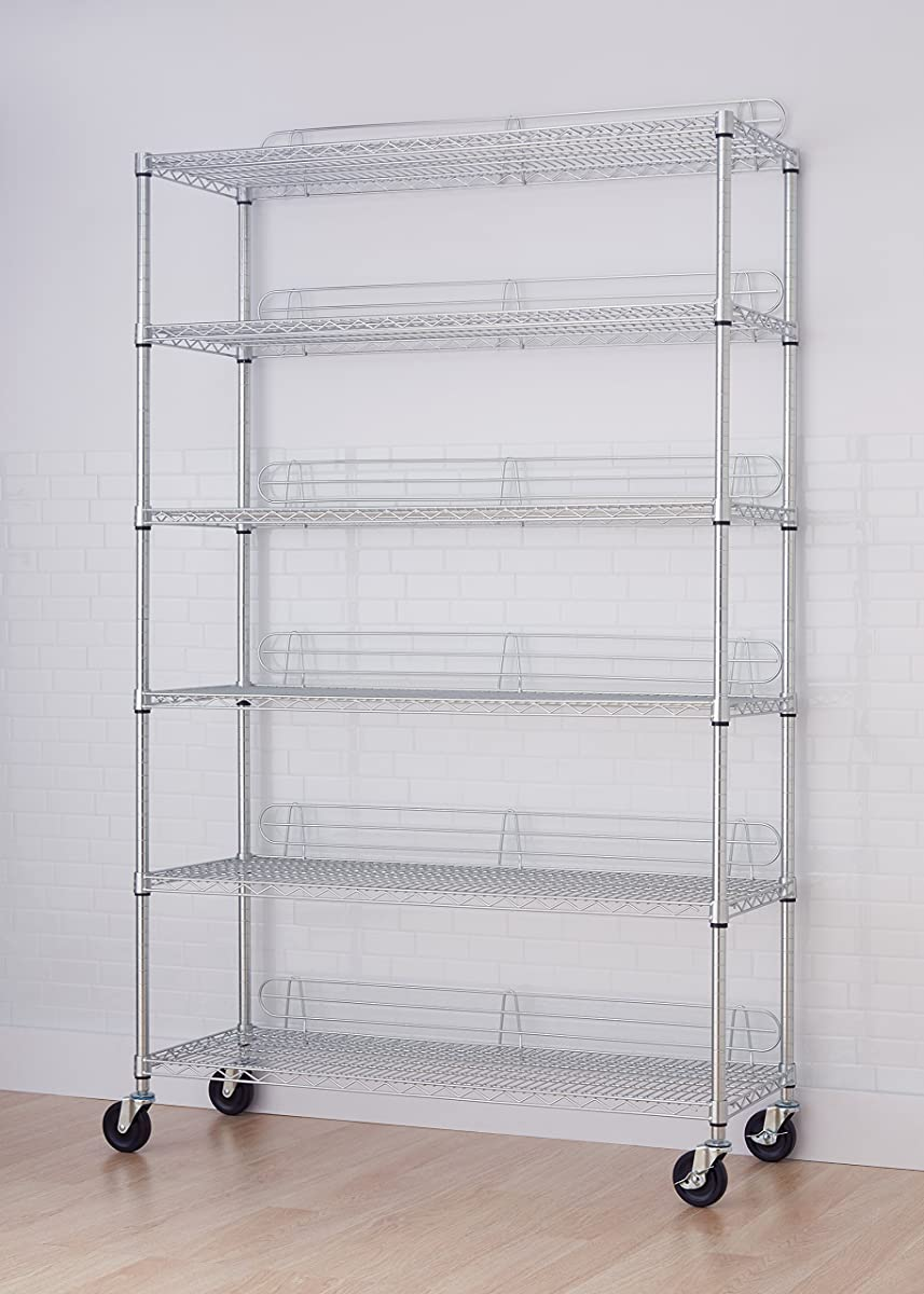 Trinity Ecostorage 6 Tier Nsf Wire Shelving Rack With