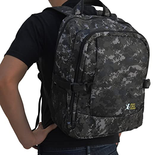 Diaper Backpack with Changing Pad, Multi-purpose Travel Diaper Bag (Camo II)