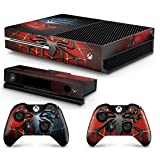 Gizmoz n Gadgetz GNG Xbox One Spiderman Console Skin Decal Sticker + 2 Xbox One Controller Skins & Kinect (Color: Spider Man)