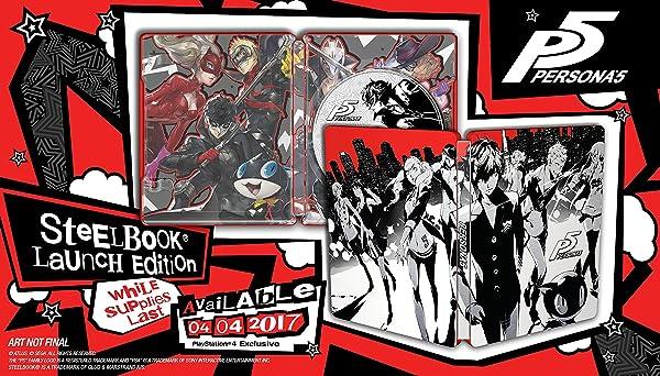 Persona 5 - SteelBook Edition - PlayStation 4