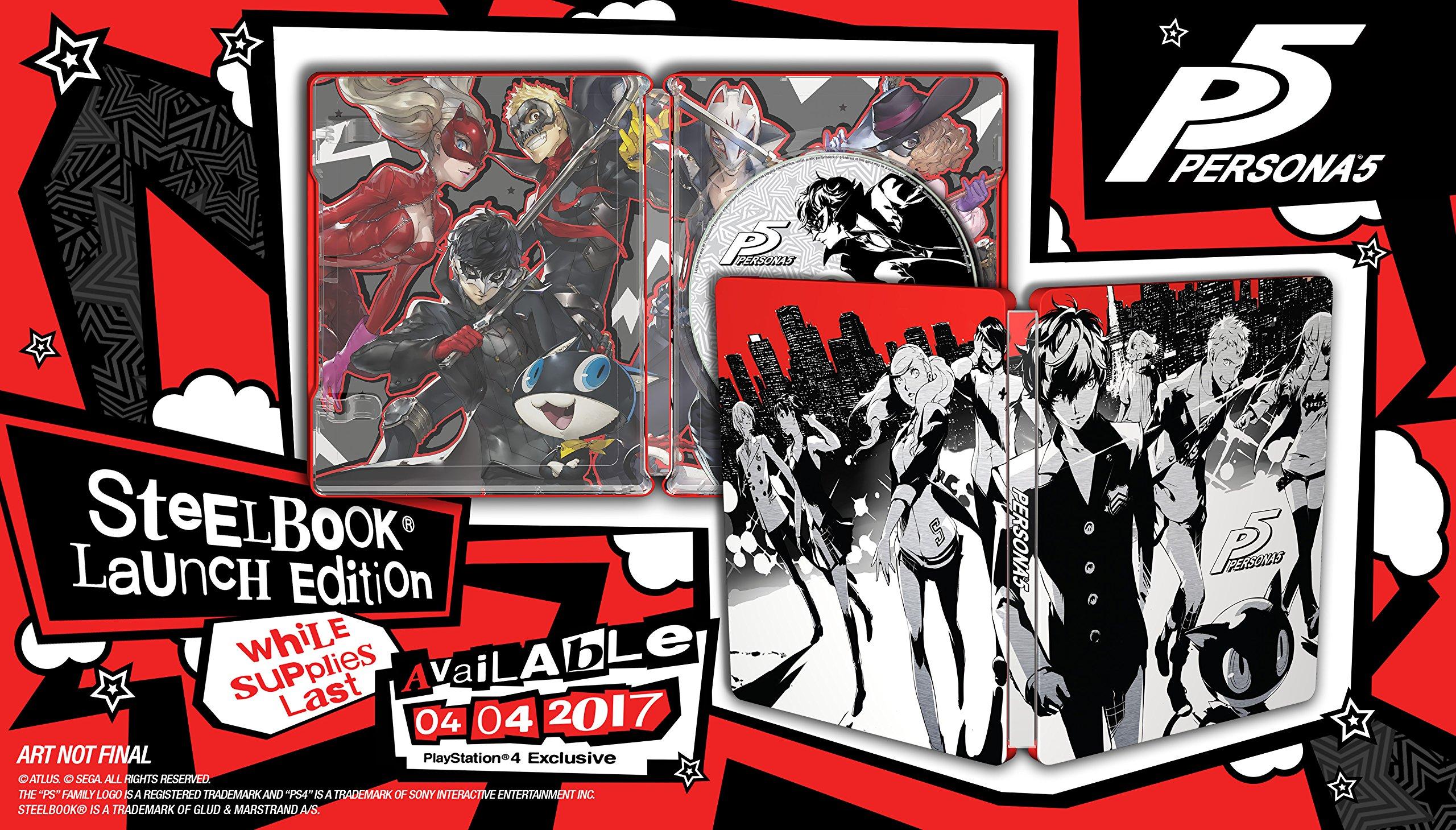 Atlus Steelbook Persona 5