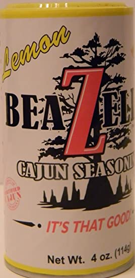 BeaZell's Cajun Seasoning (Lemon, 4 oz)