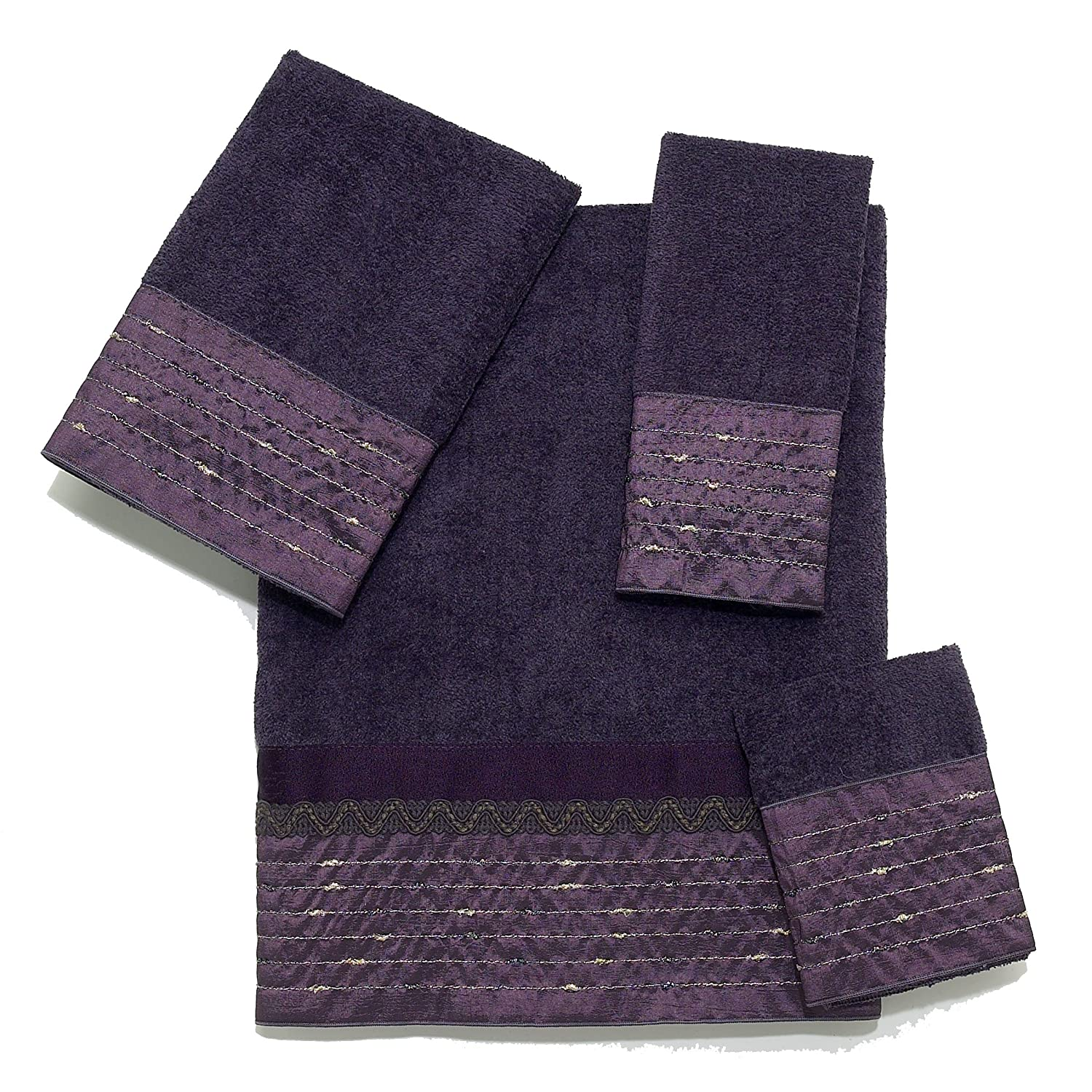 Decorative Bath Towels Purple