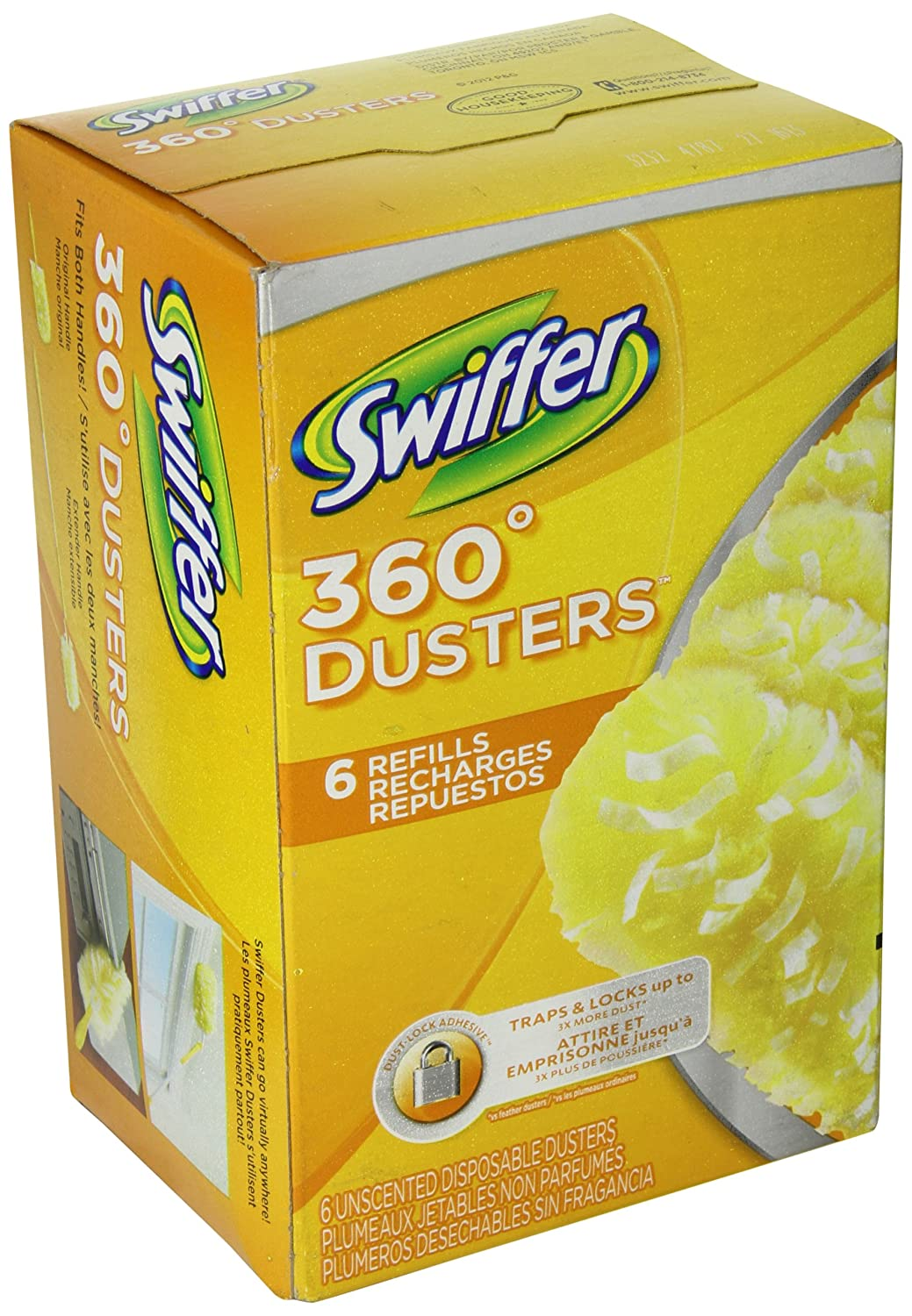 Swiffer 16944 Unscented Duster Refills (1 Box of 6 Refills) runail duster and