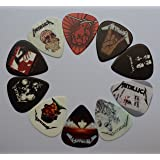 10pcs 0.71mm New Popular METALLICA Rock Band Guitar Picks Musical Plectrums