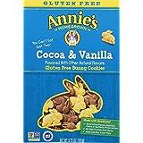 Annie's Gluten Free Cookies, Peanut Free, Cocoa & Vanilla Bunny Cookies, 6.75 oz Box