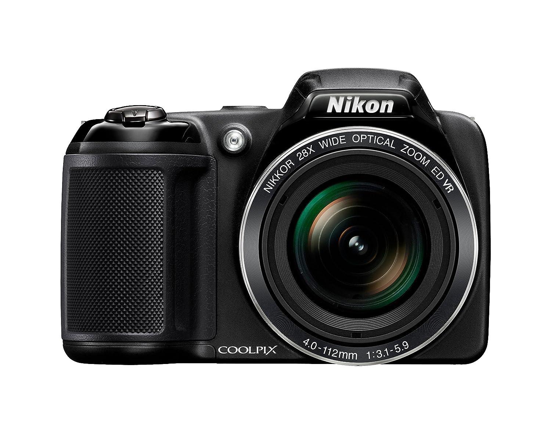 Nikon Coolpix L340 Digital Camera, Black