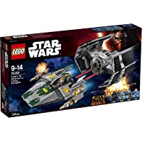 LEGO 75150 Star Wars Vader's TIE Advanced Vs A-Wing Starfighter Construction Set