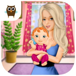 Sweet Baby Girl born Baby Care - Mommy's Little Helper by TutoTOONS