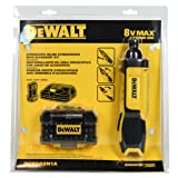 Dewalt DCF682N1A 8V Max Lith-ion 1/4 in. Cordless Gyroscopic Screwdriver in Retail Package (Color: black/yellow, Tamaño: Medium)