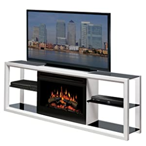 <strong>Dimplex Novara Media Console with 25 Inch Electric Firebox</strong> width=