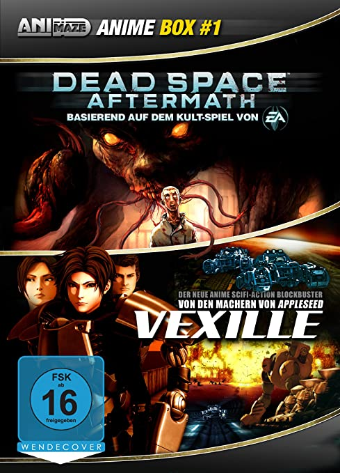 Dead Space: Aftermath / Vexille, DVD