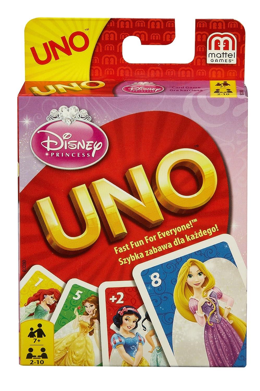 Disney Princess Uno Card Game
