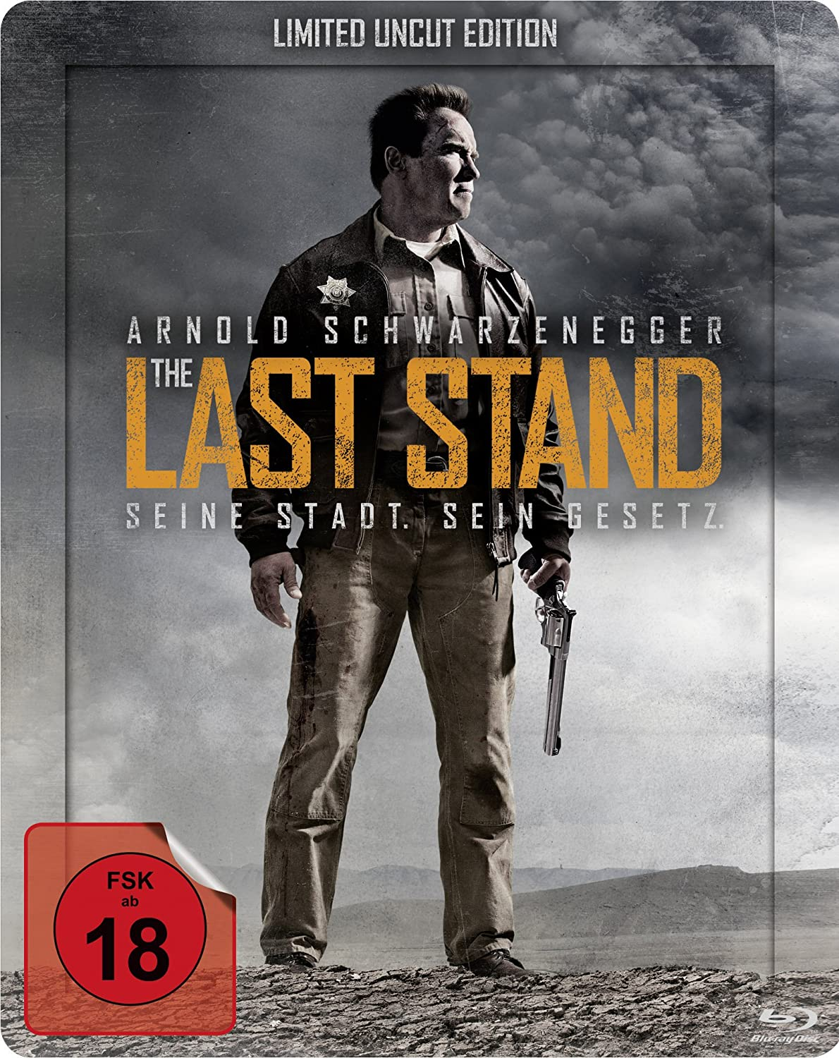 The Last Stand (Limited Uncut Edition, Steelbook) [Blu-ray] – 12,97 EUR