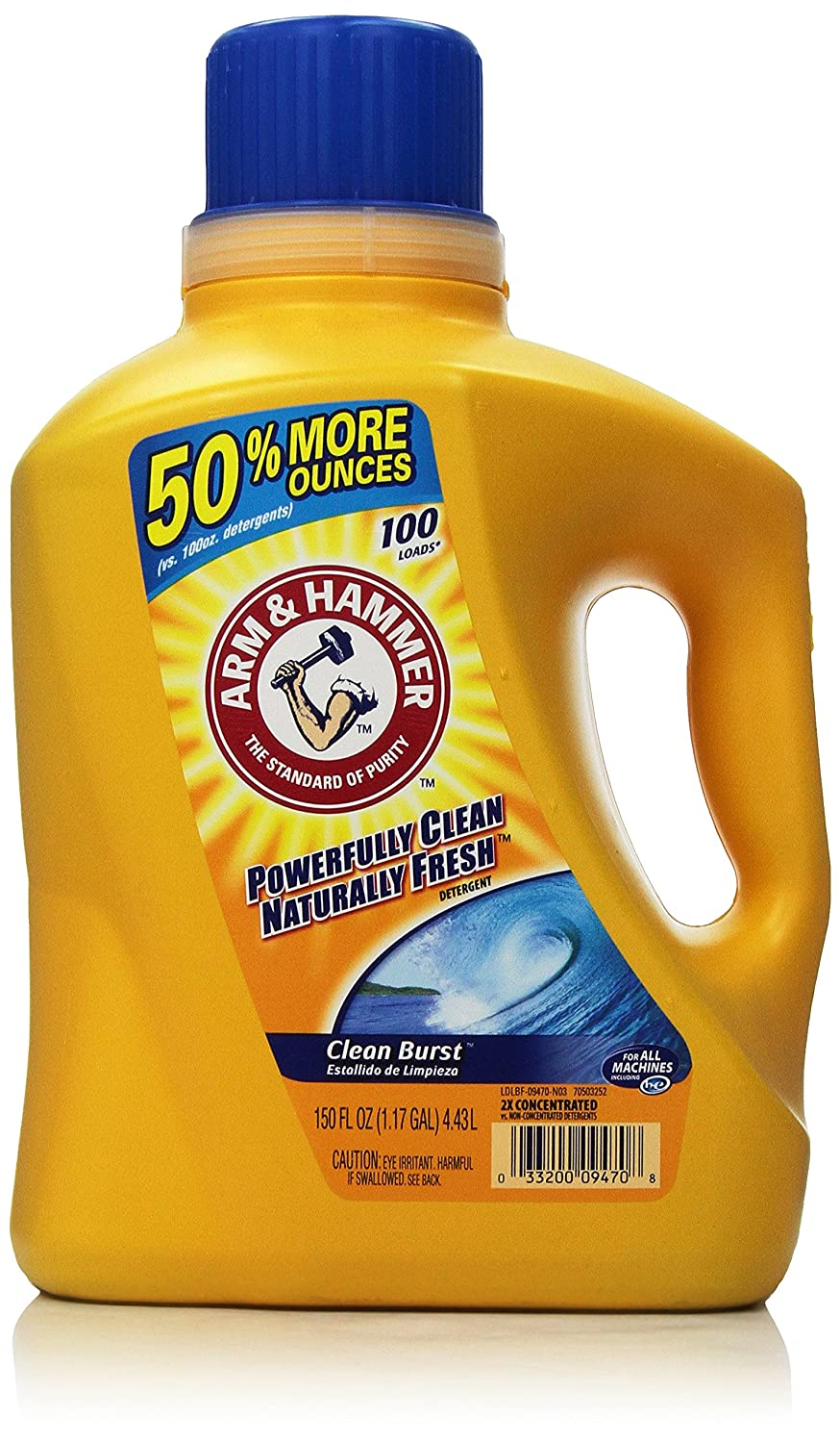 Arm & Hammer Laundry Detergent, Clean Burst