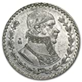 1957 MX 1967 Silver Mexican 1 Peso Ave Circ (ASW .0514 oz) Silver About Uncirculated