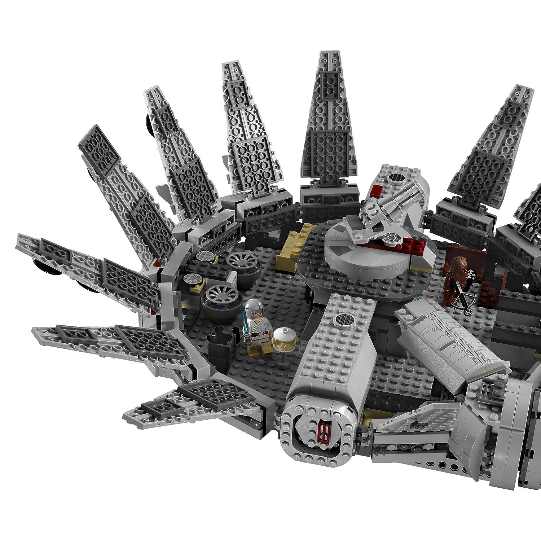 lego 7965 star wars millennium falcon 1254 pieces set new. Black Bedroom Furniture Sets. Home Design Ideas