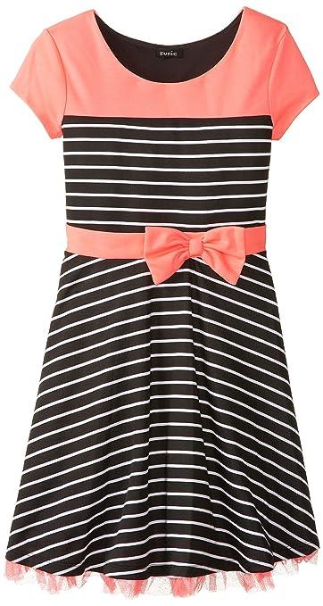 ZUNIE-Big-Girls-Striped-Ponte-Dress