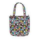 JuJuBe Be Light Everyday Lightweight Zippered Tote Bag, Hello Kitty Collection - Hello Friends (Color: Hello Friends, Tamaño: One Size)